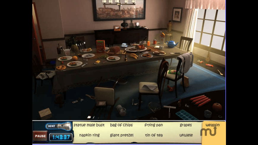 CLUE: Accusations and Alibis for Mac - review, screenshots