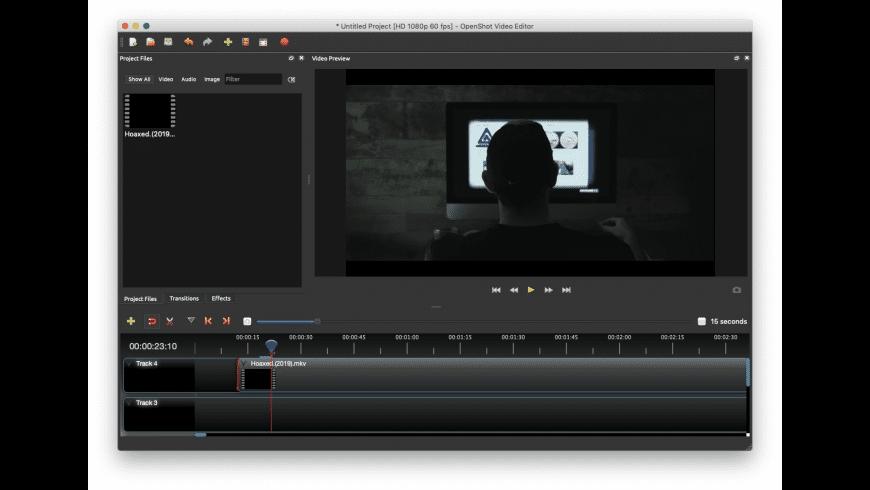 OpenShot Video Editor for Mac - review, screenshots