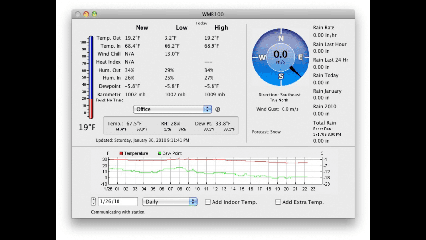 WeatherTracker for Mac - review, screenshots