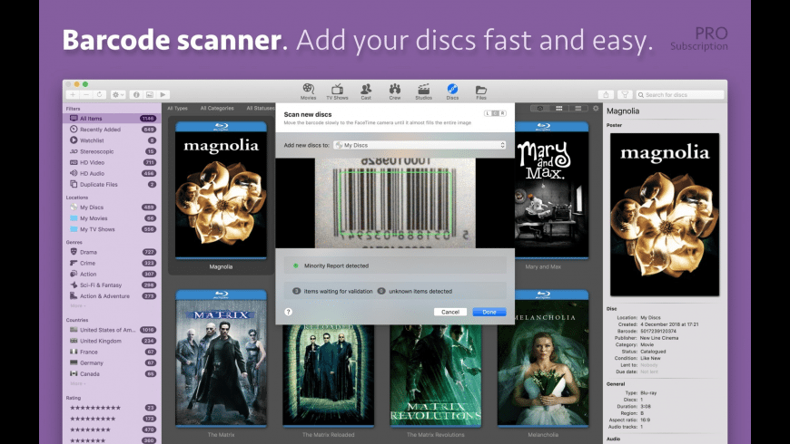 Movie Explorer for Mac - review, screenshots