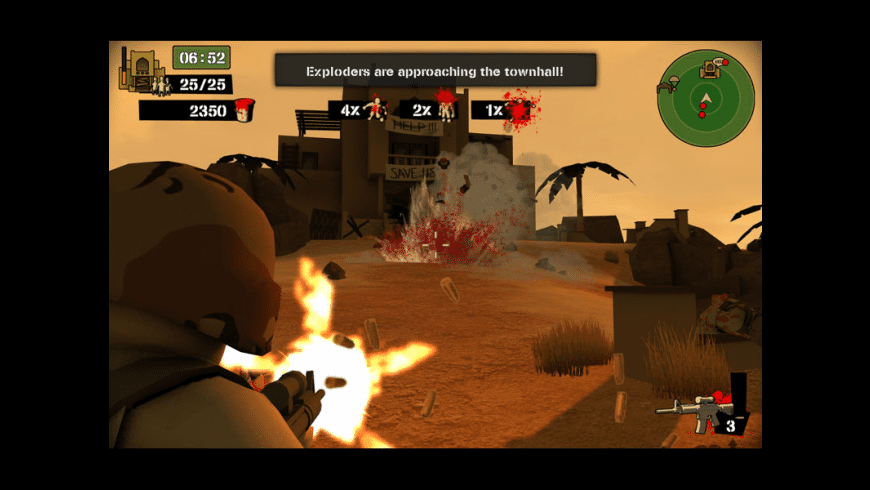 Foreign Legion: Buckets of Blood for Mac - review, screenshots