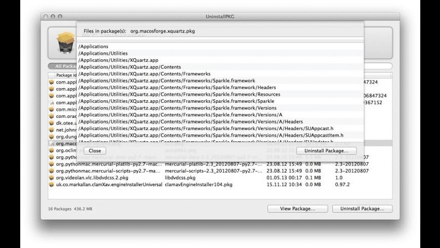 UninstallPKG for Mac - review, screenshots