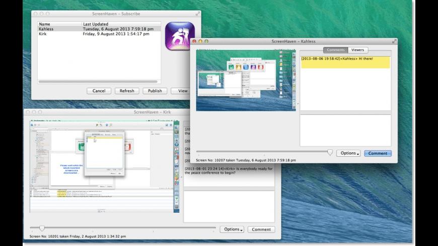 ScreenHaven for Mac - review, screenshots