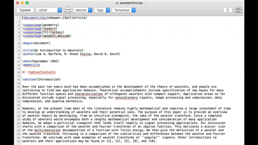 Compositor for Mac - review, screenshots