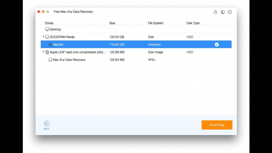 Any Data Recovery for Mac - review, screenshots