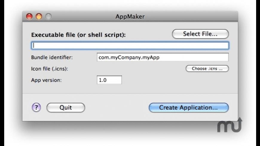 AppMaker for Mac - review, screenshots