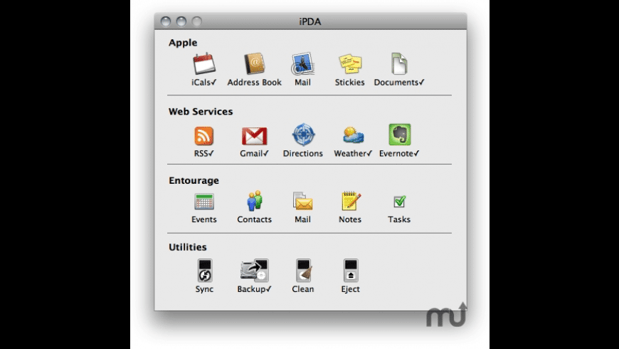 iPDA for Mac - review, screenshots
