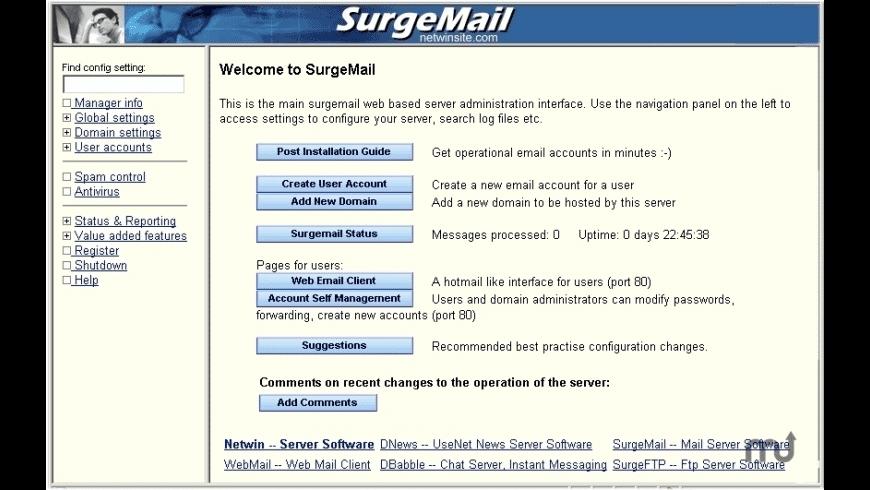 SurgeMail for Mac - review, screenshots
