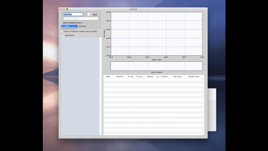 Budget Planner for Mac - review, screenshots