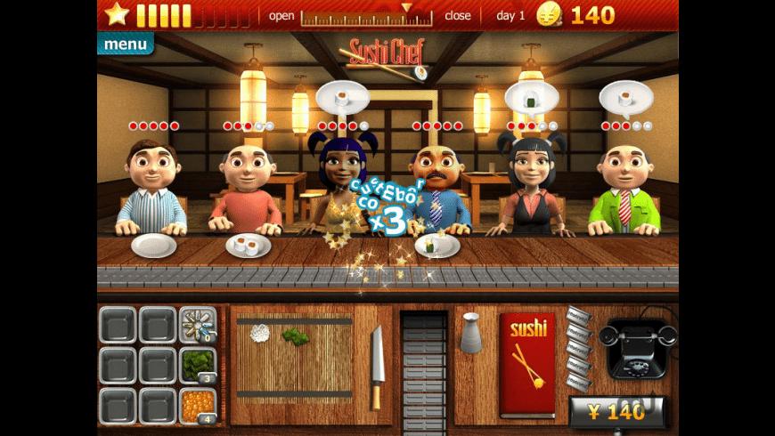 Youda Sushi Chef for Mac - review, screenshots