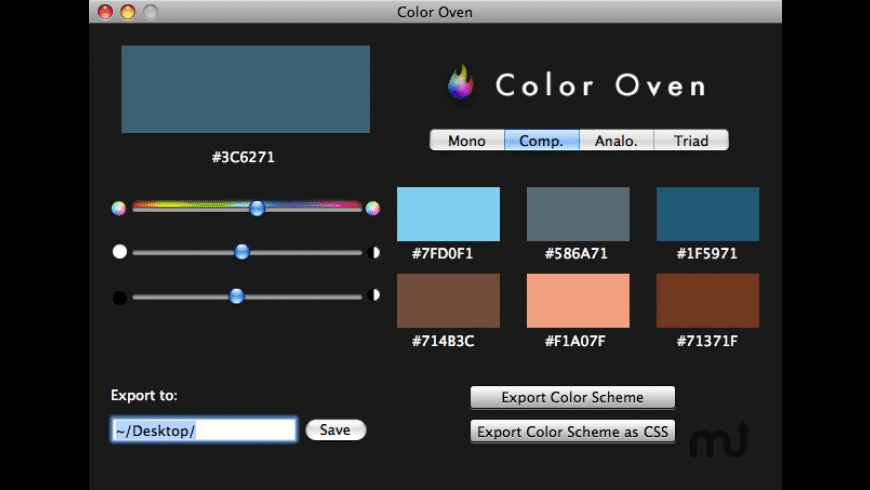 Color Oven for Mac - review, screenshots