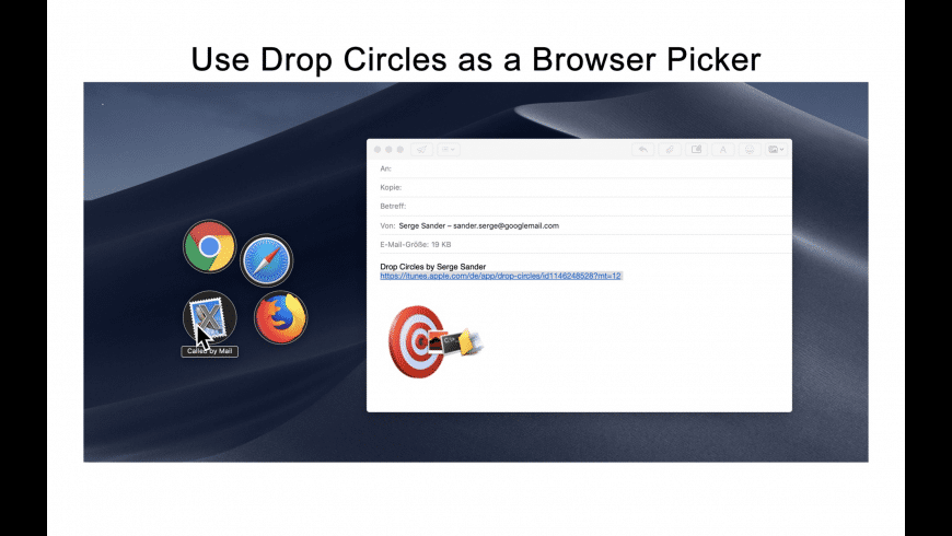 Drop Circles for Mac - review, screenshots