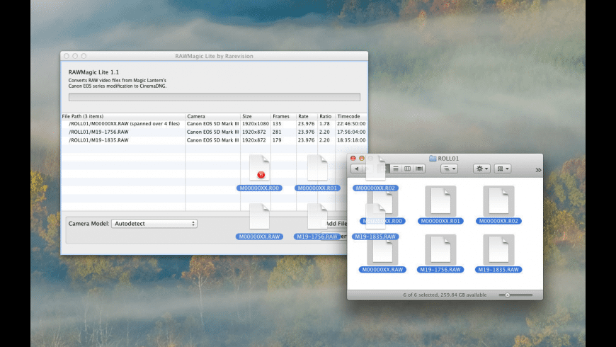 RAWMagic Lite for Mac - review, screenshots