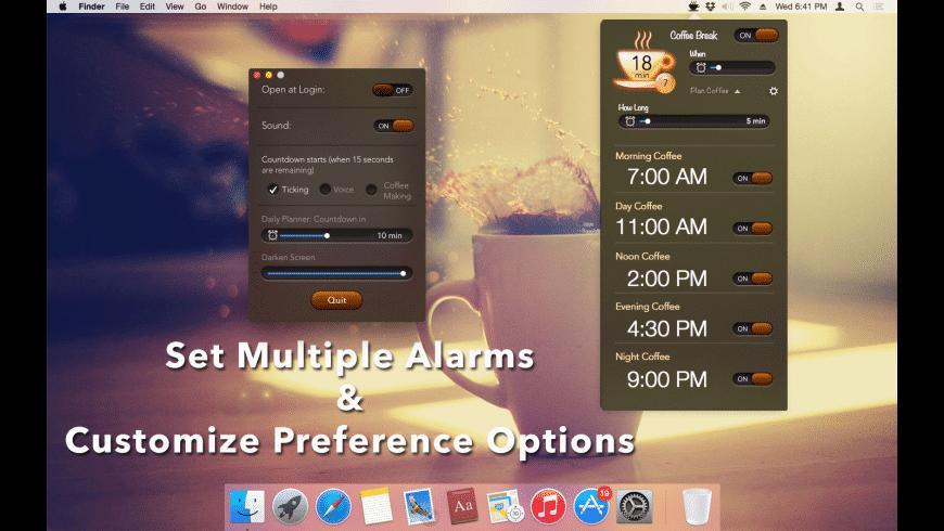 Coffee Break for Mac - review, screenshots
