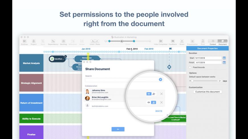 Roadmap Planner for Mac - review, screenshots