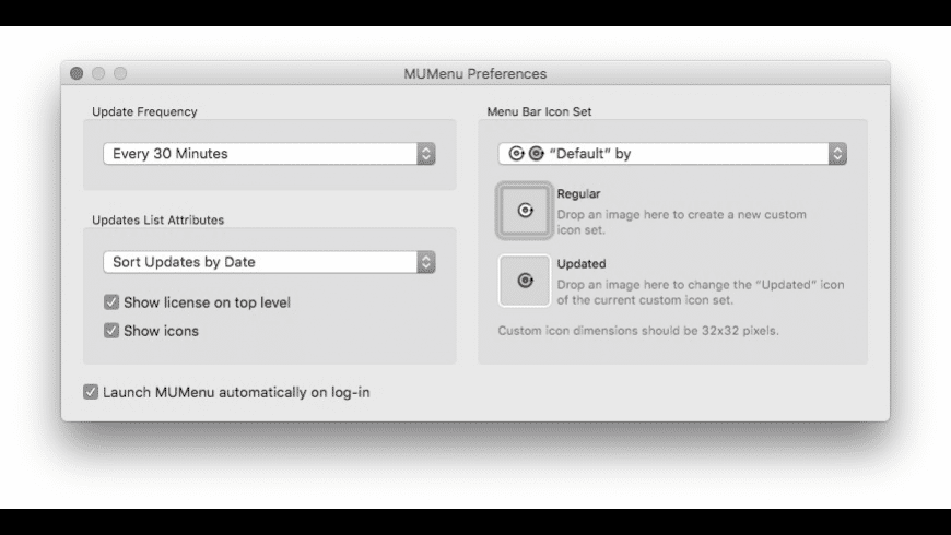 MUMenu for Mac - review, screenshots