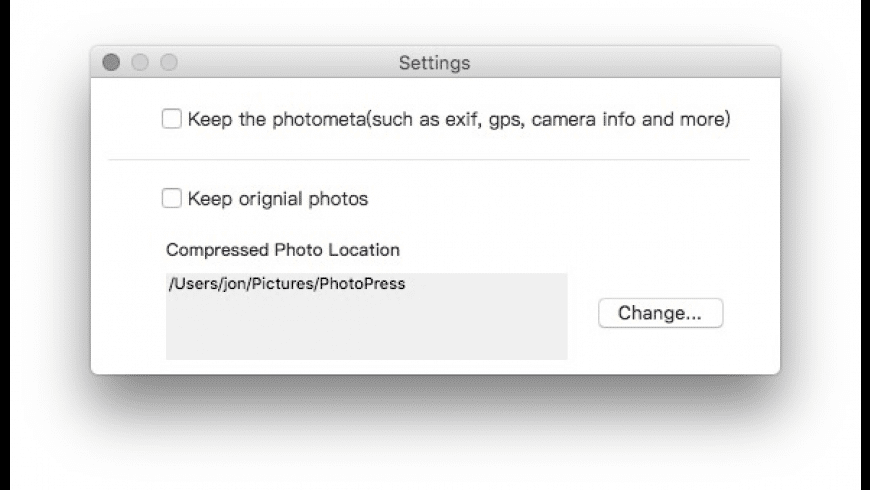 PhotoPress for Mac - review, screenshots
