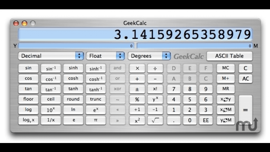 GeekCalc for Mac - review, screenshots