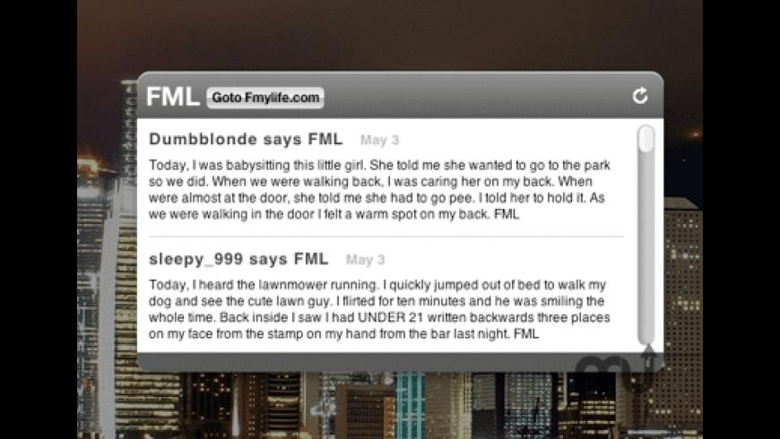FML for Mac - review, screenshots