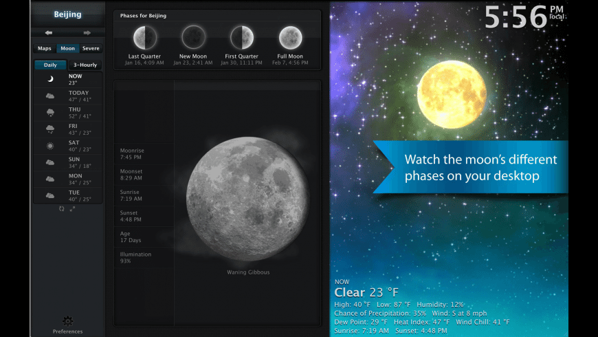 Clear Day for Mac - review, screenshots