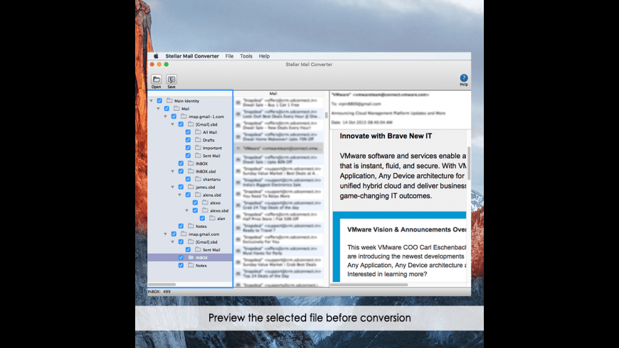 Stellar Mail Converter for Mac - review, screenshots