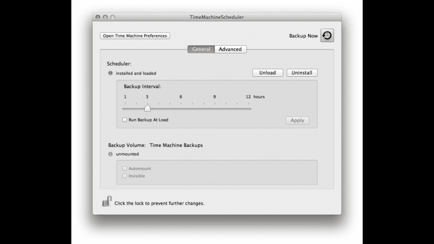 TimeMachineScheduler for Mac - review, screenshots