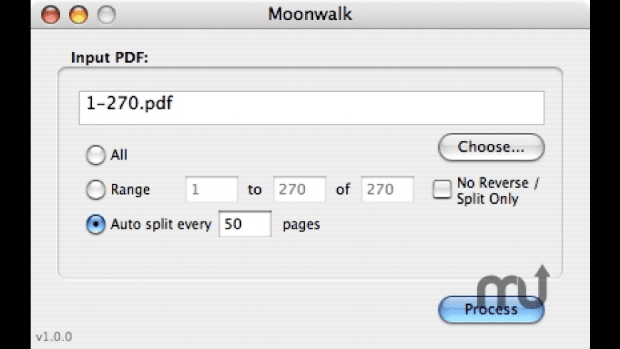 Moonwalk for Mac - review, screenshots