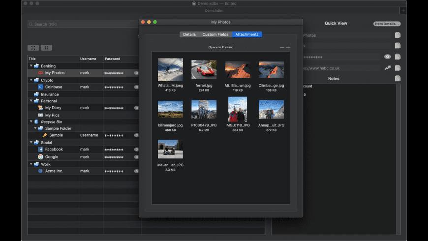 Strongbox for Mac - review, screenshots