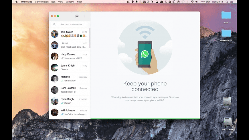 ChitChat for Mac - review, screenshots