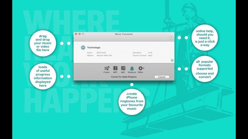 Music Converter for Mac - review, screenshots