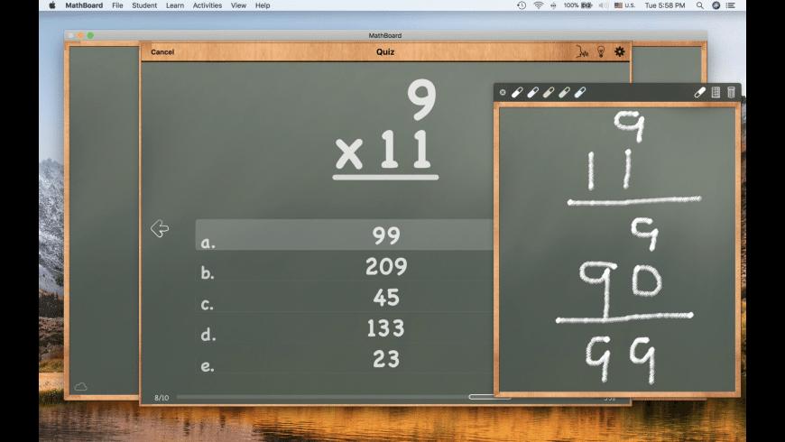 MathBoard for Mac - review, screenshots