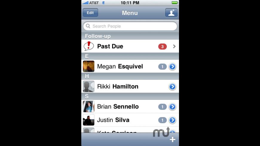 FollowUp for Mac - review, screenshots
