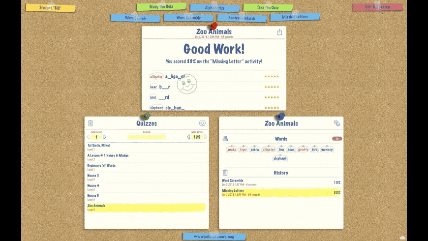 SpellBoard for Mac - review, screenshots