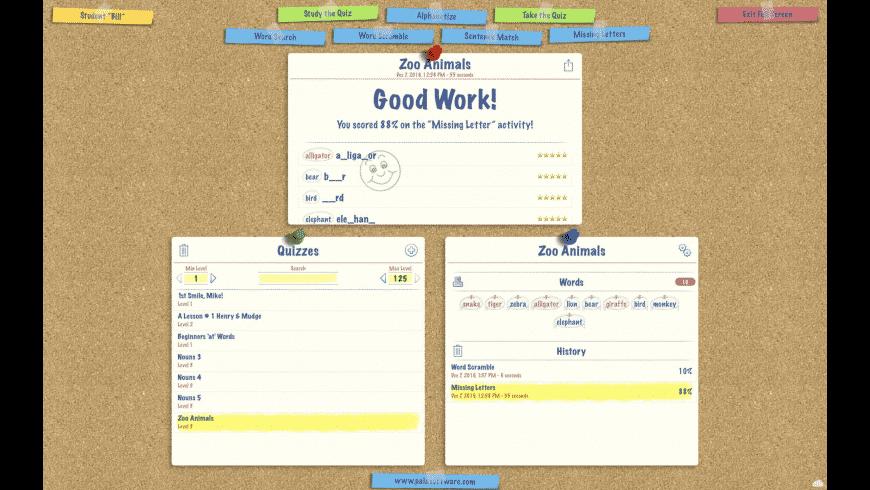 SpellBoard for Mac - review, screenshots