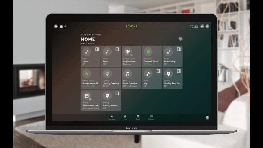 Loxone for Mac - review, screenshots