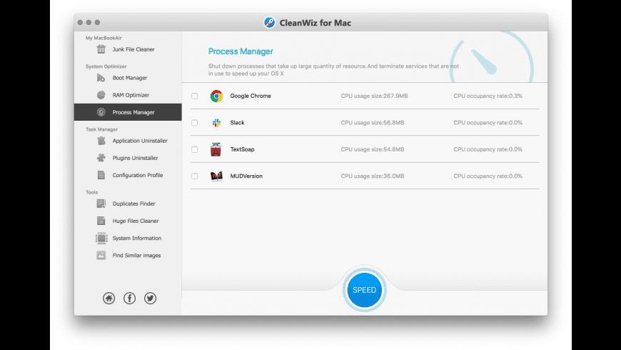 ToolWiz MacBoost for Mac - review, screenshots