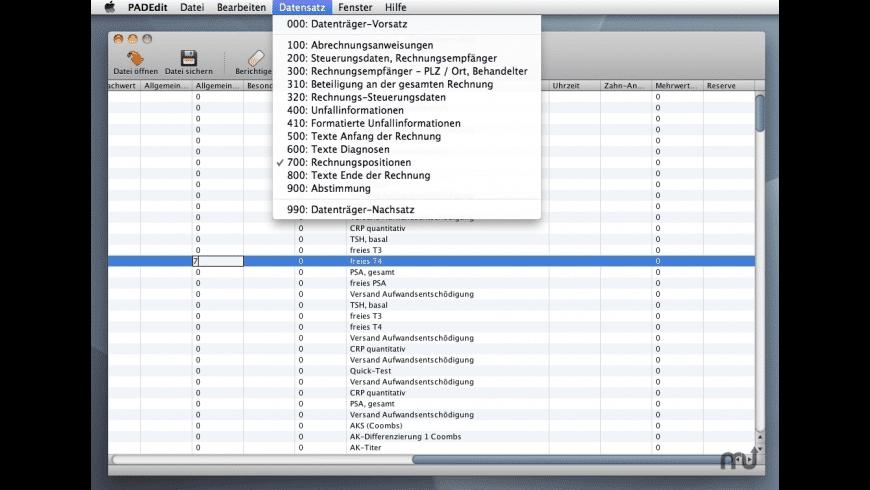 PADEdit for Mac - review, screenshots
