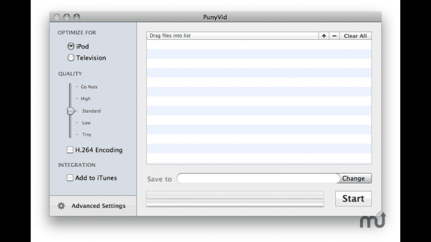 PunyVid for Mac - review, screenshots