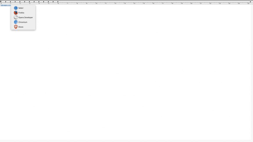Browser ChooserX for Mac - review, screenshots