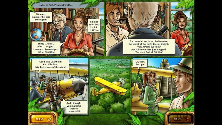 Mahjongg: Ancient Mayas for Mac - review, screenshots