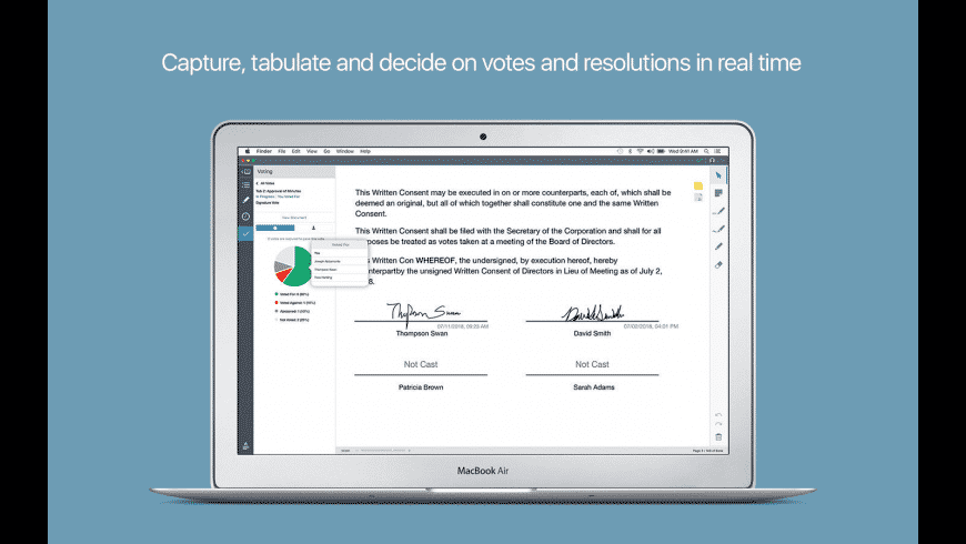 Diligent Boards for Mac - review, screenshots