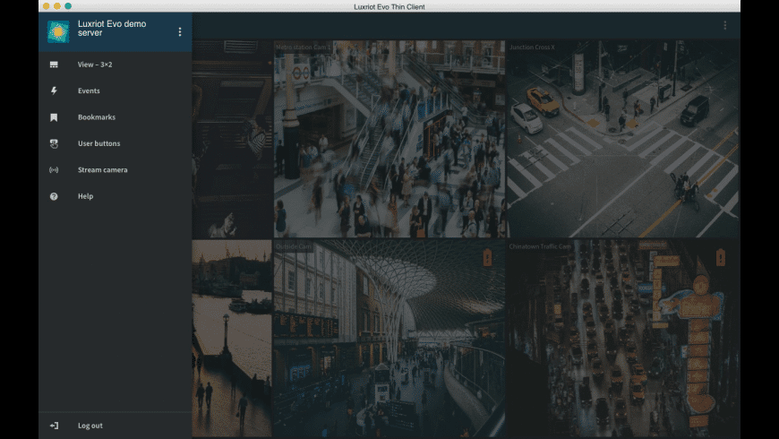 Luxriot EVO Thin Client for Mac - review, screenshots