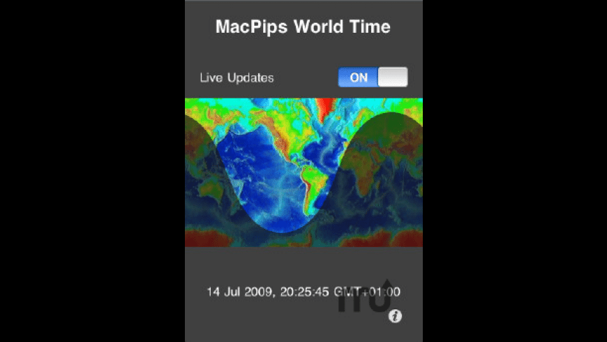 MacPips World Time for Mac - review, screenshots