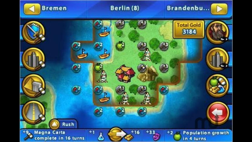 Civilization Revolution for Mac - review, screenshots