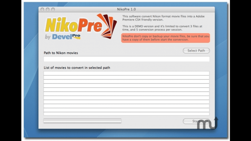 NikoPre for Mac - review, screenshots
