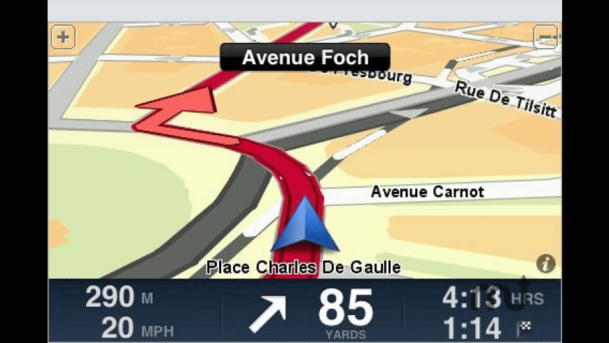 TomTom Western Europe for Mac - review, screenshots