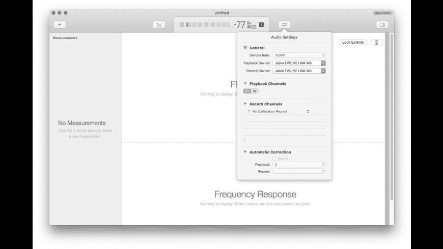 FuzzMeasure for Mac - review, screenshots