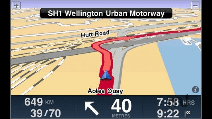 TomTom New Zealand for Mac - review, screenshots
