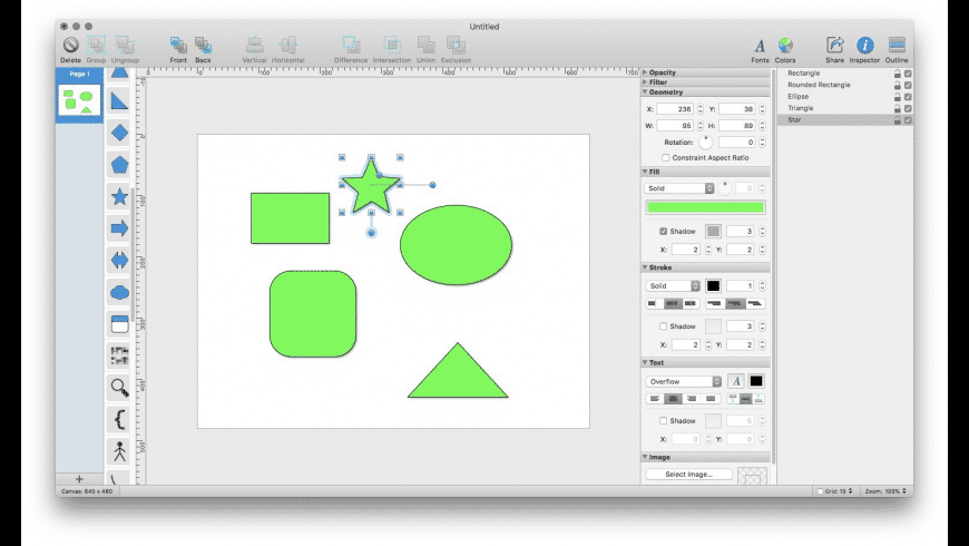 Shapes for Mac - review, screenshots