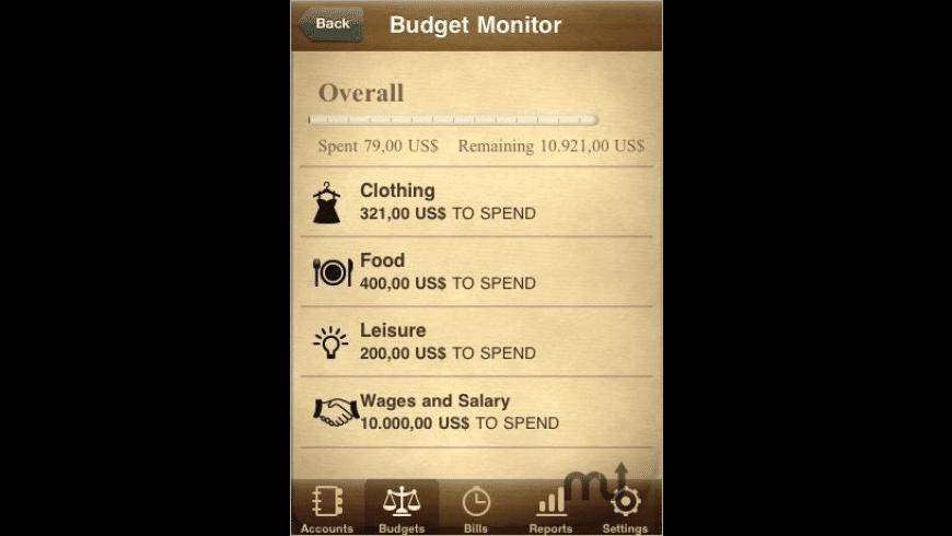 Jumsoft Money for Mac - review, screenshots